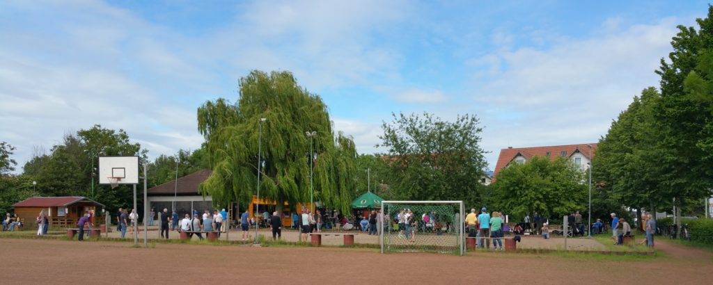 Spielsituation beim Benefizturnier am 30.05.2019